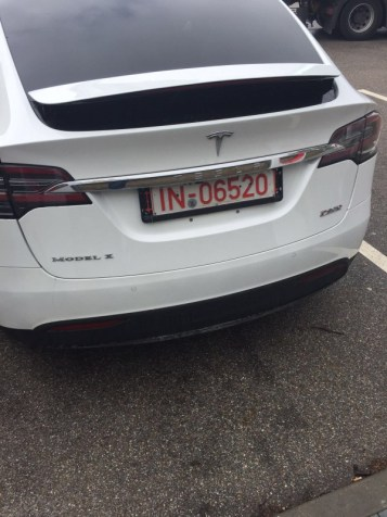 Model X at the Schweitenkirchen Supercharger by StefanKV